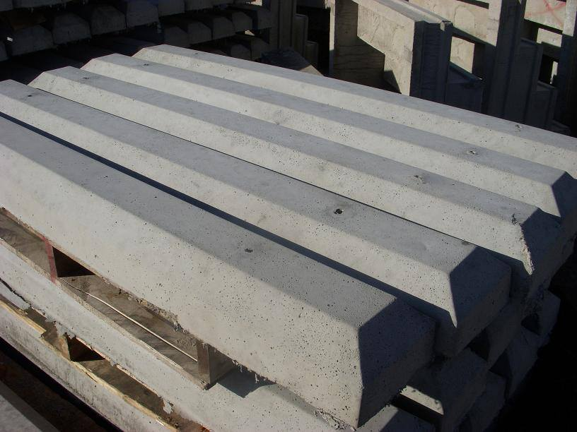 Precast Concrete Parking Bumpers Curbs Manufactured By Alexander Concrete Products