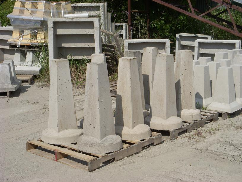 Precast Concrete House Piers And Pads Manufactured By Alexander Concrete Products